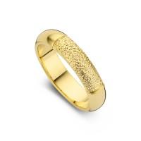Damering Love guld bredde 5,5mm