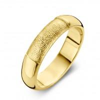 Herrering Love guld bredde 6.5mm