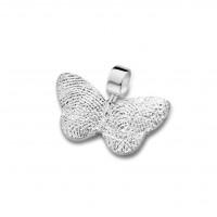 pendant, anhø¤nger, hanger, fingerprint, fingerabdrø¼ck, vingeradruk, butterfly, gold, white,