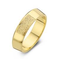 Herrering Warm guld bredde 6,5mm