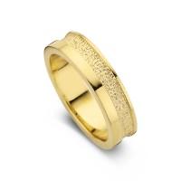 Damering Caring guld bredde 5,5mm