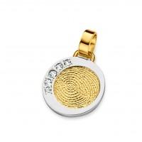 Dazzling brilliant guld/hvidguld