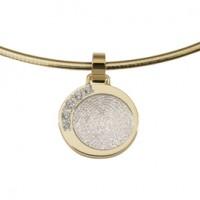 Dazzling zirconia hvidguld/guld