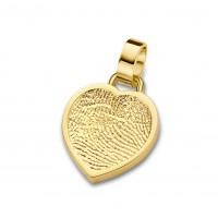 Bliss heart guld