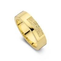 Damering Tender guld bredde 5,5mm