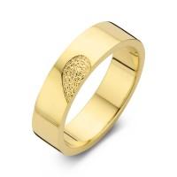Herrering Desire guld bredde 6,5mm