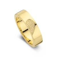 Damering Desire guld bredde 5,5mm