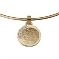 Dazzling zirconia guld