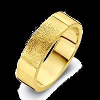 Herrering True guld bredde 6.5mm
