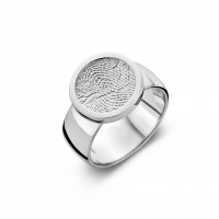 ring, fingerprint, fingerabdrück, vingeradruk, bliss 2, gold, goud, white, wit,