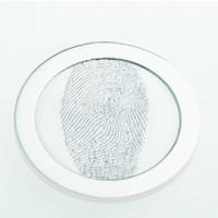 Coin S sølv  25 mm